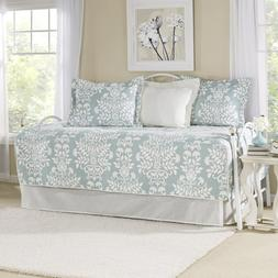 Brand New Laura Ashley 5-Piece Rowland Breeze Daybed Cover S