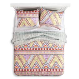 Bright Adventure Quilt Set  Multicolored 2pc - Mudhut,