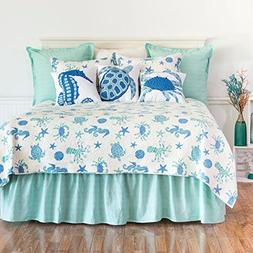 C&F Home Brisbane Mini Set Queen or Full Size Quilt 92 X 90