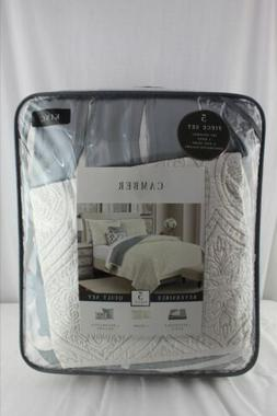 CAMBER REVERSIBLE 5 PIECE QUILT SET KING SIZE