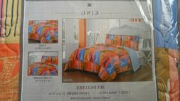 Avondale Manor Cannes 3 Piece Quilt Set, King, Multicolor