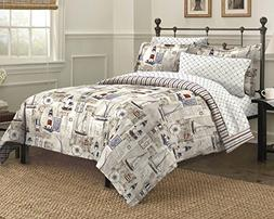 Free Spirit Cape Cod Seaside Sailing Nautical Bedding Comfor