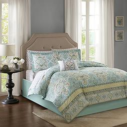 E&E Co Madison Park Essentials Cara Full Size Bed Comforter