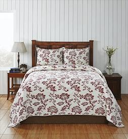 Be-You-tiful Home CC376RWK Connie King Quilt Set Connie Quil