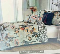 Avondale Manor Cherie 5-Piece Quilt Set Queen, Blush