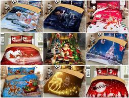 Christmas series Santa Claus Xmas printed Duvet / Quilt Cove