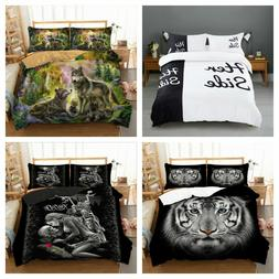 Clearance Duvet Cover Set Twin/Queen/King Size Bedding Set P