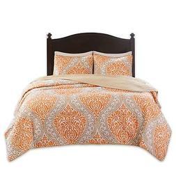 Comfort Spaces – Coco Mini Quilt Set - 3 Piece – Orange