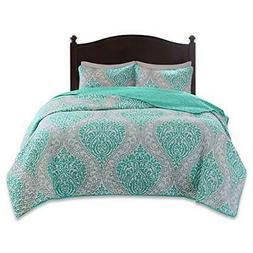 Comfort Spaces – Coco Mini Quilt Set - 3 Piece – Teal an