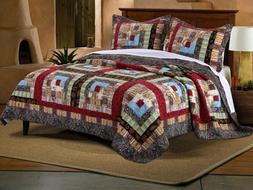 Colorado Lodge Quilt Set, 2-Piece Twin
