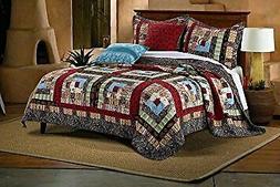 Greenland Home Fashions Colorado Lodge Quilt Set
