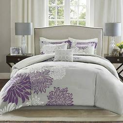 Comfort Spaces Enya 5 Piece Comforter Set Ultra Soft Hypoall