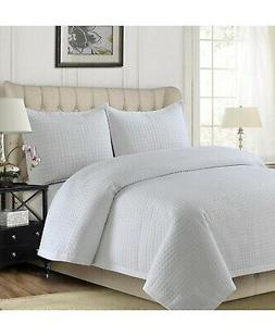 Tribeca Living Como Microfiber Solid Oversized Full/Queen Qu