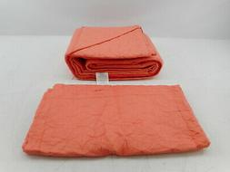 Laura Ashley Coral, King Quilt Set
