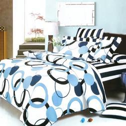 Blancho Bedding -  100% Cotton 5PC MEGA Comforter Cover/Duve