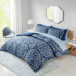 Comfort Spaces CS10-0912 Cara 9 Piece Comforter Set All Seas