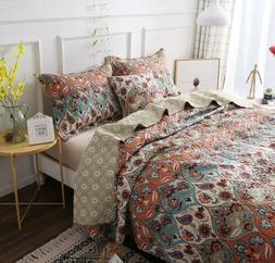 dada bedding vibrant bohemian garden paisley floral