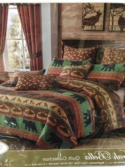 "Virah Bella® - Debra Valencia ""Lodge Preserve ""  KING QUI"