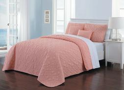 Del Ray 9 Piece Reversible Quilt Set by Avondale Manor