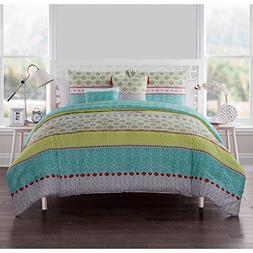VCNY Home Dharma Reversible 5-piece Comforter Set Multi 5 Pi