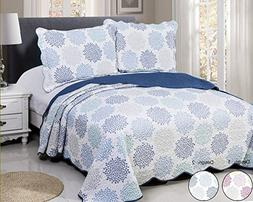 vivinna home textile Disperse Printing Quilt Set Queen/Full