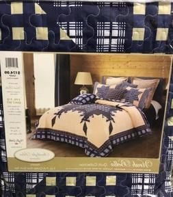 Duke Imports DQ655Q Primitive 3Piece Primitive Quilt Set,,Qu