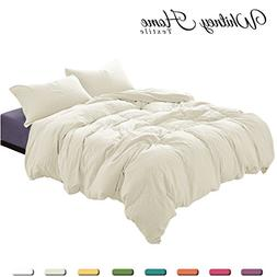Egyptian Cotton Quality Soft Stone Washed Microfiber Ivory D