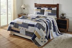 Be-You-tiful Home Elsa King Quilt Set 3 Piece