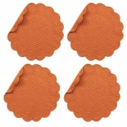 "C&F Enterprises 17"" Quilted Spice Placemat, Set of 4"