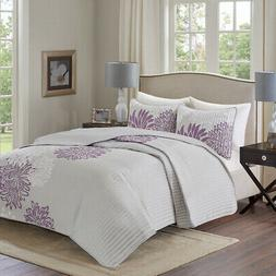 Comfort Spaces Enya 3 Piece Reversible Coverlet Set