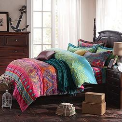 LELVA Ethnic Style Bedding Sets, Morocco Bedding, American C