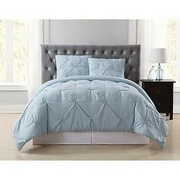 Truly Soft Everyday Twin Extra Long Pleated Comforter Set Li