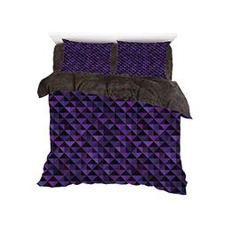 Flannel Duvet Cover Set 4-Piece Suit Warm Bedding Sets Quilt