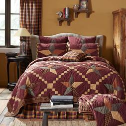 FOLKWAYS STAR QUILT SET -choose size & accessories - Primiti