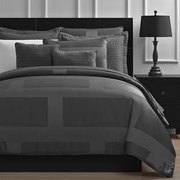 Comfy Bedding Frame Jacquard Microfiber Cal King 5-piece Com
