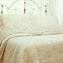 Cozy Line Home Fashions French Medallion 100% COTTON Bedding