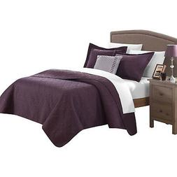 Chic Garibaldi Barcelo 8 Piece Traditional Embroidery Quilt