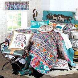 Giddy Up Quilted Bedding, King