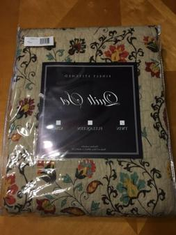 Global Trends Alta Bedding Quilt Set - Twin Size