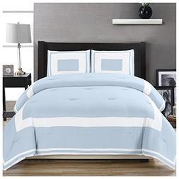 grammercy blocked comforter set