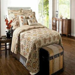 Greenland Home Andorra Quilt & Sham Set Twin Full/Queen Or K