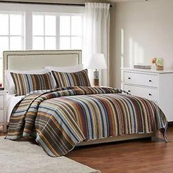 greenland home durango quilt set 3 piece