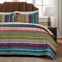 Greenland Home Southwest Quilt Set, 3-Piece Full/Queen, Sies