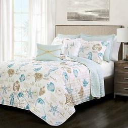 Harbor Life 7 Piece Quilt Set by Lush Decor