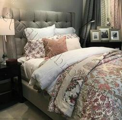 Pottery Barn Harlowe Quilt Set Queen 2 Standard Shams Floral