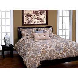 SIS Covers 6-Piece Isabella Duvet Set, California King