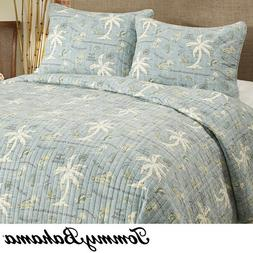 TOMMY BAHAMA Island Song Full/Queen QUILT SET