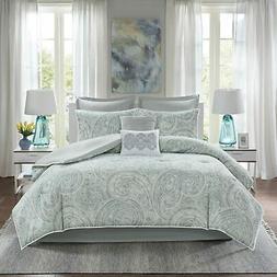 Comfort Spaces Kashmir 8 Piece Comforter Set Hypoallergenic