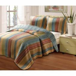Greenland Home Fashions Katy - 2 Piece Quilt Set