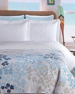 queen coastal cottage hydrangeas quilt